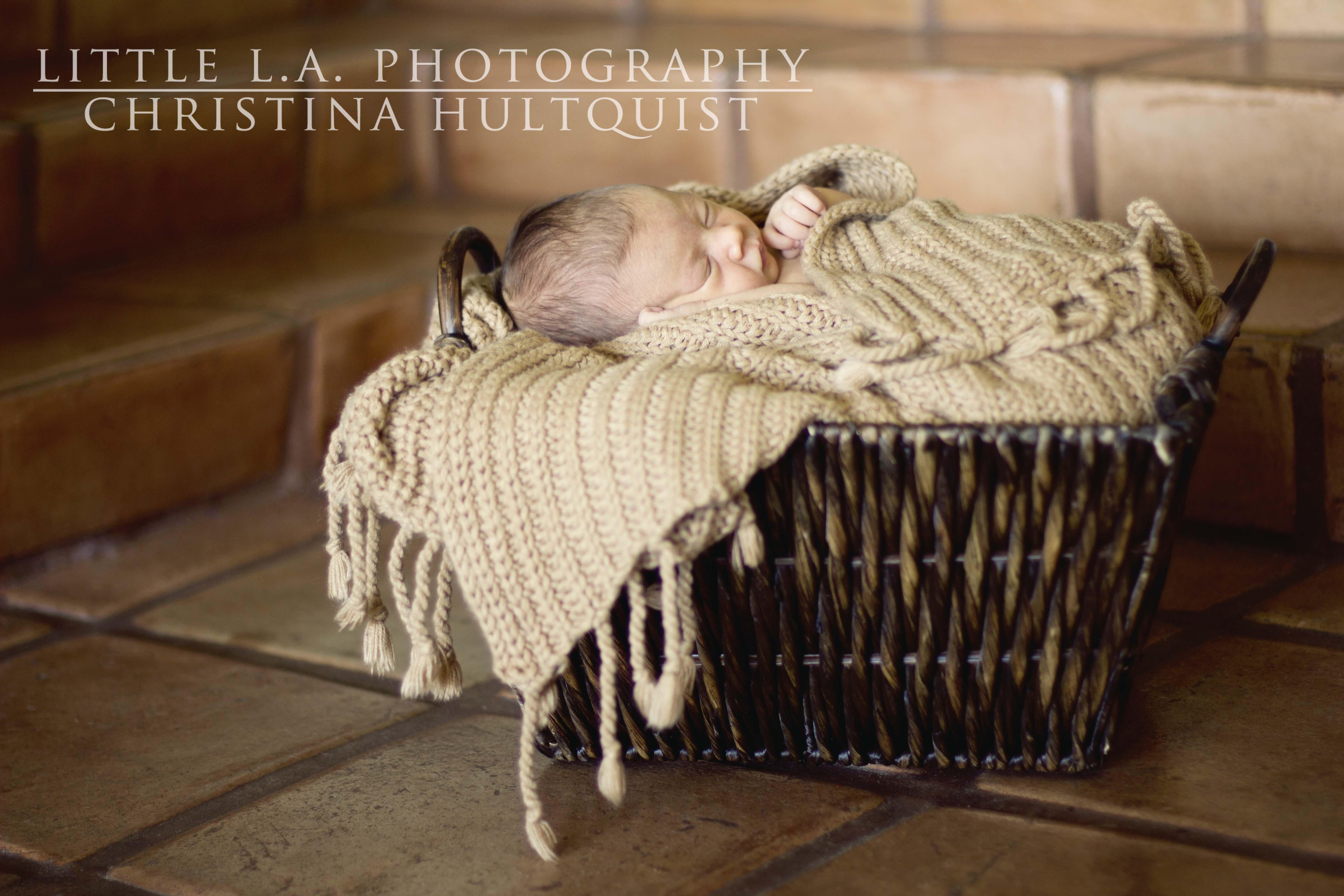 los angeles newborn pictures